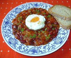 Mexické fazole :: Domací kuchařka - vyzkoušené recepty Meatloaf, Beans, Dinner, Cooking, Quinoa, Art, Diet, Essen, Dining