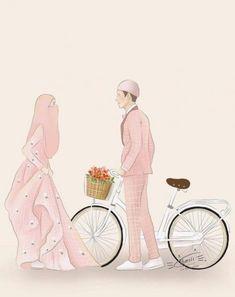 34 Trendy Wedding Couple Cartoon Muslim couple back 34 Trendy Wedding Couple Cartoon Muslim