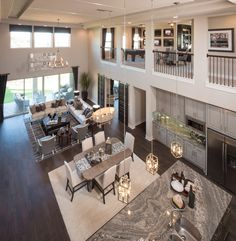 sucuri granite living room transitional with model home merchandising manufactured wood fireplace surrounds Home Room Design, Dream Home Design, Modern House Design, Home Interior Design, Dream House Interior, Luxury Homes Dream Houses, Dream House Plans, Model Homes, House Rooms