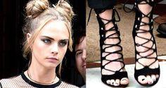 Rita Ora Launches 'America's Next Top Model' in Gianvito Rossi 'Carlyle' Sandals