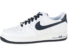 Nike Kids NIKE AIR FORCE 1 (GS) BASKETBALL SHOES 5.5 (WHITE/OBSIDIAN) Nike. $74.99