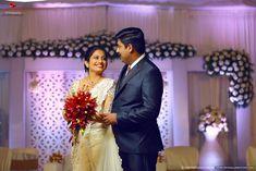 Best Wedding Photographers In Vyttila Christian Wedding Sarees, Saree Wedding, Kerala Wedding Photography, Saree Gown, Best Wedding Photographers, Wedding Reception, Brides, Marriage, Gowns
