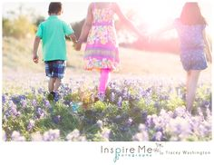 Bluebonnets Children's Session | Inspire Me Photography