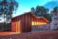 biblioteca-burundi    #library #deaf #africa  #architecture