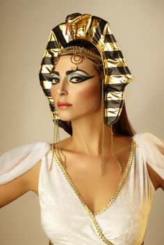 Halloween Inspiration with FAUX: Cleopatra