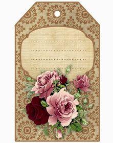 Vintage Tags, Vintage Diy, Vintage Labels, Vintage Ephemera, Vintage Paper, Free Printable Tags, Printable Paper, Card Tags, Gift Tags