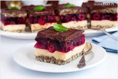 Ciasto Balladyna - I Love Bake Pie Dessert, Food Cakes, Tiramisu, Cake Recipes, Cheesecake, Sweets, Ethnic Recipes, Foods, Chocolate Covered