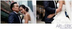 •bride+groom South Street Seaport NYC Wedding || ari + erik wedding photographers•