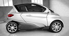 French group PSA Peugeot-Citroen unveils compact three-seat EV concept