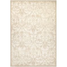 Found it at Wayfair - Marina Cannes Champagne Area Rug