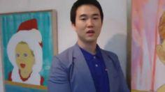 """페미경 TV """"동심"""" 노블카운티 NC갤러리 전시 출품 작가 인터뷰"""