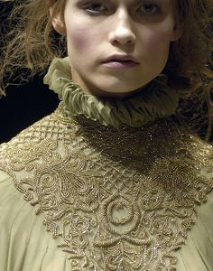Knitting inspiration #alexander mcqueen#fall 2006