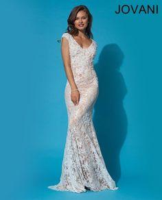 Jovani 90897 - destination beach wedding dress