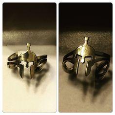 Anillo de Plata, diseño Casco Spartano #hechura #hechoamano / Silver Ring, #Spartan Helmet Design #hechura #handmade