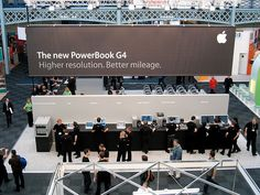Apple Booth - A Side, via Flickr.