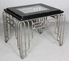 Art Deco, store display table by goldie