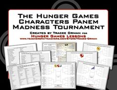 Hunger Games Trilogy Tournament Madness Creative Activity Have your students fill out brackets for the characters in The Hunger Games, Catching Fi. Hunger Games Activities, Hunger Games Party, Hunger Games Humor, Hunger Games Trilogy, Creative Activities, Classroom Fun, Classroom Activities, English Classroom, March Madness Tournament
