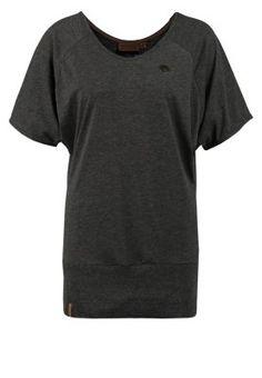 Zieh dieses Shirt an und fühl dich rundum geborgen. Naketano KATOWICE MIETZE II - T-Shirt basic - anthracite melange für 14,95 € (17.10.14) versandkostenfrei bei Zalando bestellen.