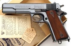 As a result Colt, as well as other Connecticut manufacturers such as Mossberg and Stag Arms will see immediate erosion in brand strength and market share as customers migrate to manufacturers in more supportive states. 1911 Pistol, Colt 1911, Colt 45, Military Guns, Military Quotes, Assault Weapon, American Soldiers, Guns And Ammo, Tactical Gear