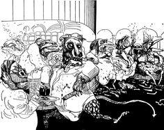 Ralph Steadman's The Lizard Lounge 1971