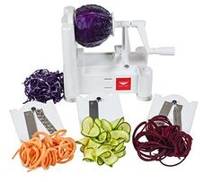 Paderno World Cuisine Spiral Vegetable Slicer / Counterto...