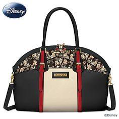 Disney Romance: Mickey And Minnie Artistic Handbag | Disney Caught In The Moment Handbag