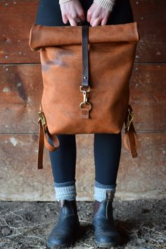 The Tate Backpack by JPaigeCo on Etsy