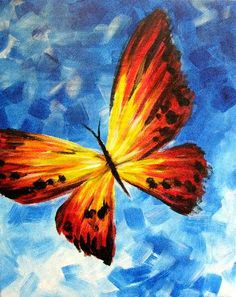 Butterfly 3 at Native Grill and Wings - Paint Nite Events