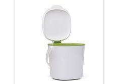 Cubo para poner en la encimera de la cocina y echar la materia orgánica. Piensa verde. Oxo GoodGrips