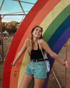 #rainbow #pride #girl #festival #festivalfashion #happy #summer #instagram Rainbow Pride, Happy Summer, Festival Fashion, Barbie, Instagram, Style, Stylus, Music Festival Fashion, Barbie Dolls