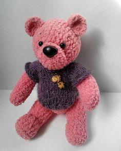 Teddy bear handmade