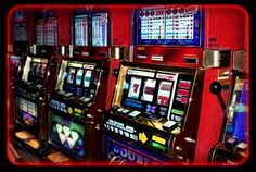 Slot machines are fun entertainment for everyone!  Add one on to your next casino themed event and test your luck!
