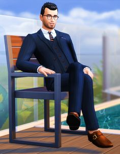 sims4downloads — marvinsims:  Three-Piece Suits  I couldn't believe...