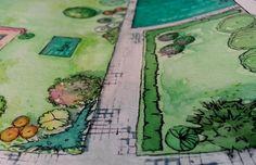 Kim Shadow Landscape Design, Painting, Art, Painting Art, Paintings, Kunst, Paint, Draw, Landscape Designs