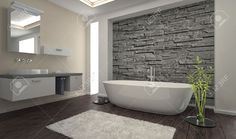 modern interieur badkamer - Google zoeken