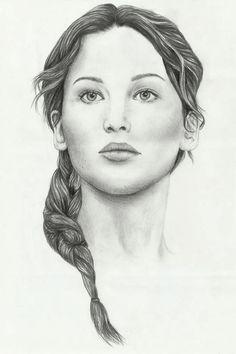Hunger Games Fan Art / Katniss Everdeen / Catching Fire