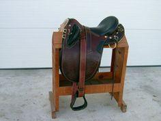 Australian Stock Saddle, probably one of the most elegant I've seen!