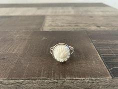 Custom Made Sterling Silver Lotus Flower Ring Lotus Flower image 0 Silver Ruby Ring, Silver Cuff, Sterling Silver Rings, Lotus Flower Images, Lotus Flower Ring, Native American Rings, American Indian Jewelry, Animal Earrings, Unique Earrings