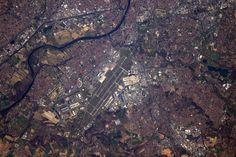 https://flic.kr/p/SnM4iu | Toulouse Blagnac | Toulouse airport (TLS/LFBO): a frequent destination during my pilot days and home of Airbus. You can see the aircraft fresh off the production line  L'aéroport de Toulouse-Blagnac (TLS/LFBO), destination fréquente de mes années de pilote, et base de Airbus. On voit facilement les avions sortis des chaînes de production et attendant leurs propriétaires, et les avions d'essai en vol  Credits: ESA/NASA  145A6567