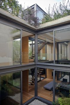 Gallery of House with Four Courtyards / Andrés Stebelski Arquitecto - 23