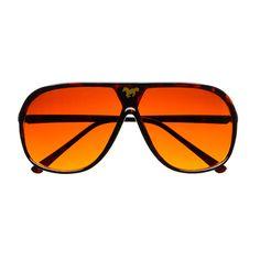 #retro #vintage #style #aviator #sunglasses #shades #horse #logo #womens #mens #tortoise #orange #red #lens #driving