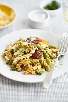 Pasta Salad, Ethnic Recipes, Fit, Fashion, Crab Pasta Salad, Moda, Shape, Fashion Styles, Fashion Illustrations
