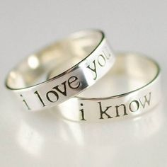 His and Hers Wedding Bands I like these
