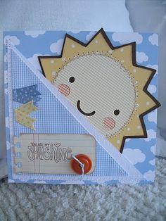 Super cute card idea for Create A Critter!