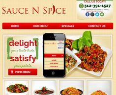 Restaurant Website Design by Red Spot Design