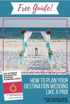 If you're new to planning, or if you're still exploring the idea of a Destination Wedding, this guide is for you!