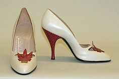Pumps, ca. 1955, Dal Co', Italian, Gift to the Brooklyn Museum by Charline Osgood.