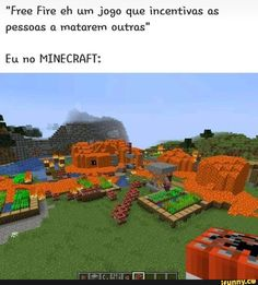No minecraft eu sou o demonio  >:3 Minecraft W, Minecraft Memes, Best Memes, Funny Memes, Sao Memes, Otaku Meme, Kaneki, American Horror Story, Bambam