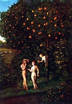 """Adam, Eve, the Serpent, and the Tree of Knowledge. BIBLE SCRIPTURE: Genesis 3:4, """"And the serpent said unto the woman, Ye shall not surely die:"""""""