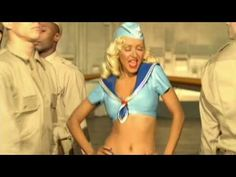 "Christina Aguilera sings and dances to ""Candyman"""
